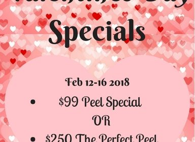 Valentine's Day Chemical Peel Specials