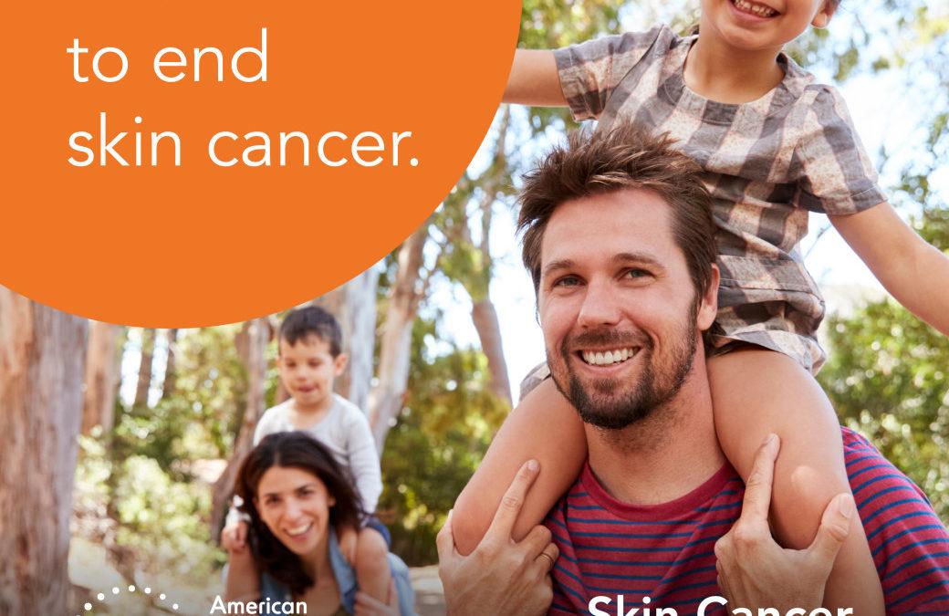 Skin Cancer, Take A Hike!
